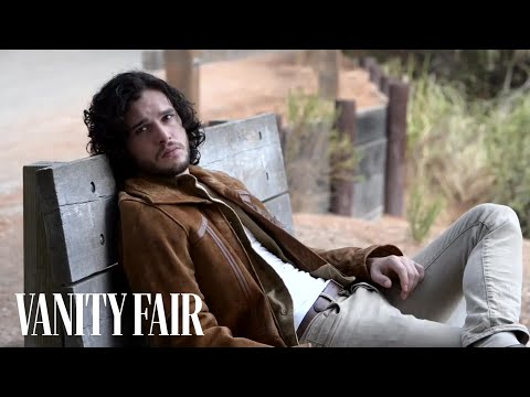 Kit Harington Trades Winter for Lava