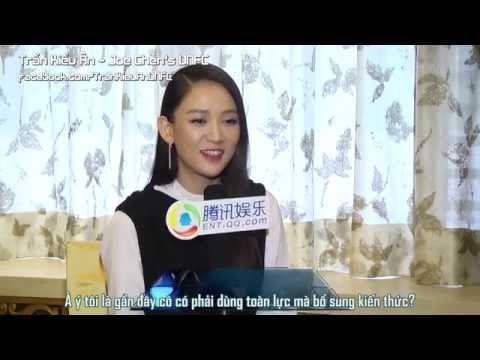 [6.11.2015] Trần Kiều Ân - Phỏng vấn QQ tham gia web drama