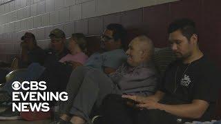 Florida shelter packed as Hurricane Michael hits Florida