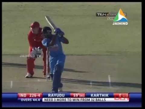India beat Zimbabwe by 6 wickets