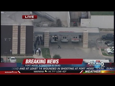 Officials: 4 dead, including gunman, at Fort Hood