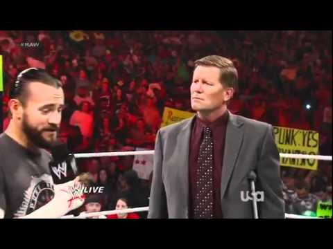 WWE RAW - CM Punk & John Laurinaitis Reveal Their WWE 13 Covers