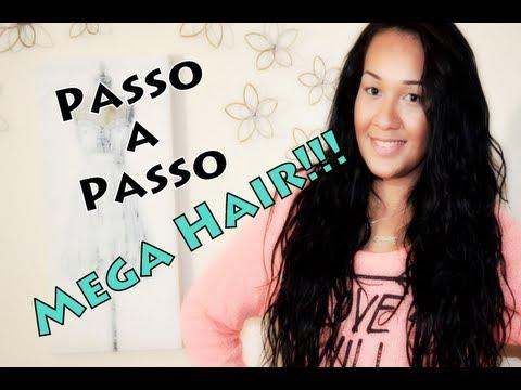 Passo a Passo: Mega hair por MilaMakeUp