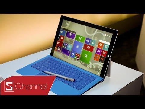 Schannel - Tổng hợp sự kiện ra mắt Surface Pro 3: Người thay đổi cuộc chơi ?