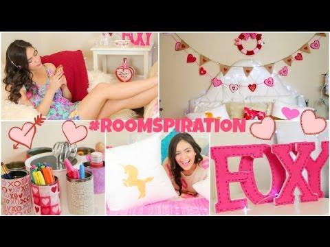 DIY Room Decorations for Valentine's Day & more! - Valentin-napi dekoráció