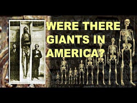 Ancient Giants In America? Hugh Newman and Bernard Alvarez