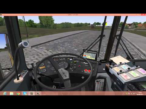 Tutorial:Como Jogar OMSI Simulador de Onibus!