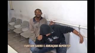 Preso por furtar carro amea�a rep�rter em delegacia de Po�os de Caldas