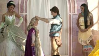 Rapunzel Becomes 10th Disney Princess With Procession And