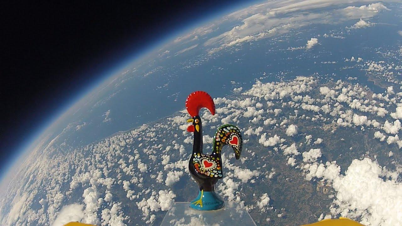 """Artesanato Sergipano ~ Galo de Barcelos foi ao Espaço (""""Rooster of Barcelos"""" in Space) YouTube"""