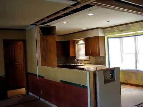 Galley kitchen open floor plan remodel by homework for Ranch galley kitchen remodel