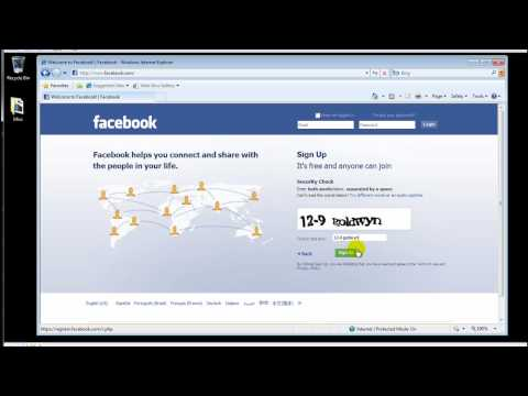 How to create a facebook account, Creating a facebook account is free and easy. Just watch the video for details and connect with old friends and community. A how-to video from techforliving....