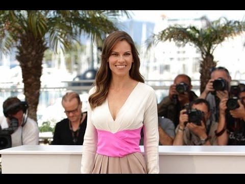 Hilary Swank Cannes 2014