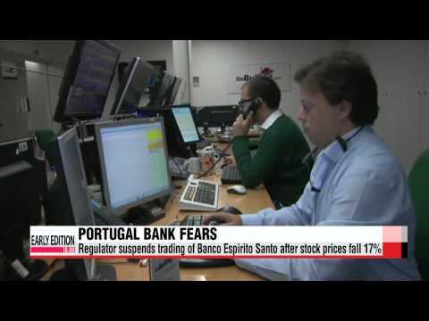 Global stock markets slip on Portugal bank crisis