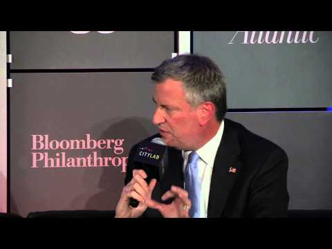 NYC Mayoral Candidate Bill de Blasio on Public Schools vs. Charter Schools