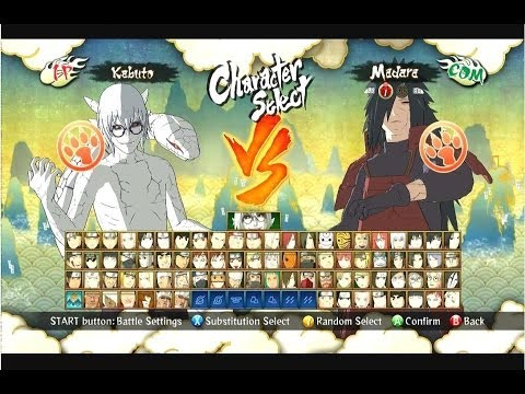 How to unlock all characters in Naruto Ultimate Ninja Storm 3 Full Burst