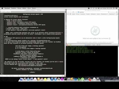 Apple OS X Mavericks - Apache & PHP