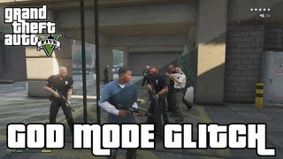GTA 5 Glitches - God Mode Glitch & Secret Room - Grand Theft Auto 5 Glitches