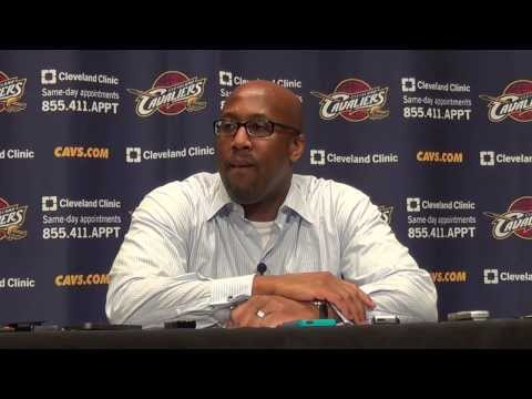 Cleveland Cavaliers HC Mike Brown postgame interview  after 108-104 OT loss to Golden State