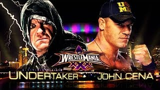WrestleMania 30 The Undertaker Vs Johncena (I Quit Match