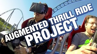 Augmented Thrill Ride Project: Wearing the Oculus Rift on a Real Roller Coaster