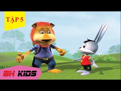 Phim Hoạt Hình 3D Hài Hước Vui Nhộn Thỏ Trắng Và Sư Tử -  Tập 5 : Thách Đố
