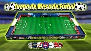 Juego de fútbol de mesa