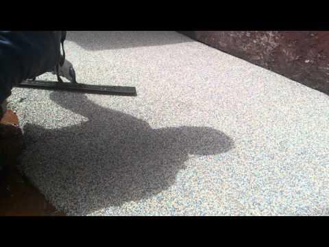 Укладка покрытия в США