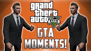 GTA 5 Online Funny Moments! - IAA Building Glitch, Bumper Choppers and More!