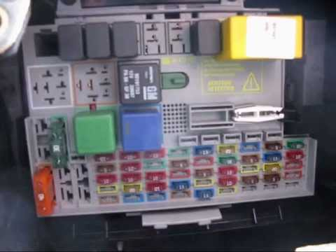 mkiv astra  dti estate fuse box location youtube
