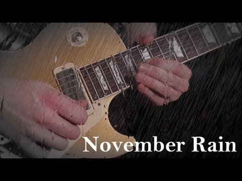'NOVEMBER RAIN' - by GNR -- FULL INSTRUMENTAL COVER - Performed by Karl Golden