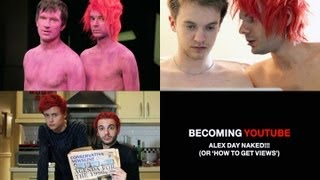 Alex Day Naked!!! | BECOMING YOUTUBE | Video #2