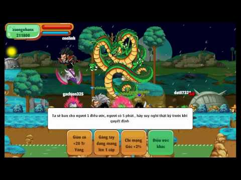 Ngọc rồng online Gọi rồng thần 1 sao (bang xayda school)