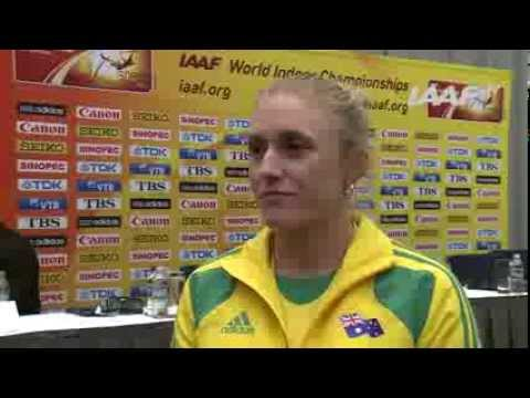 Sopot 2014 - Sally Pearson - AUS - IAAF World Indoor Championships
