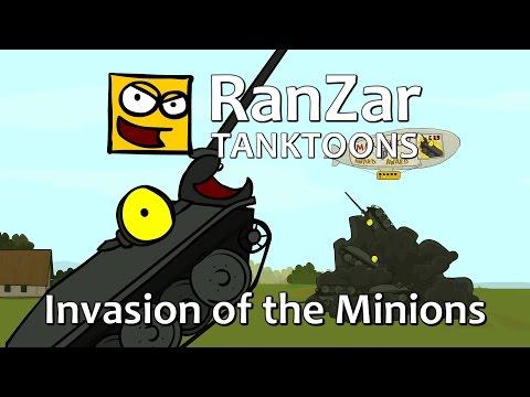 Tanktoon - Invázia poskokov