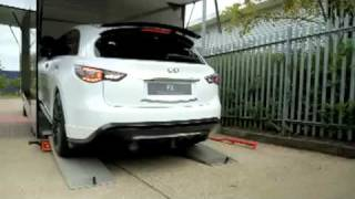 Making of Infiniti FX Sebastian Vettel version featurette videos