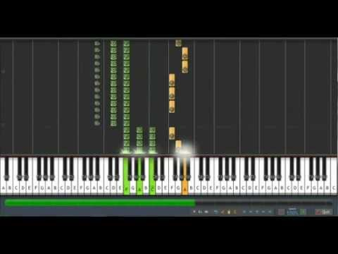 Gravity Falls - Made Me Realize on Synthesia - Piano tutorial (Free MIDI with links)