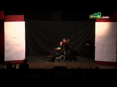 Teatro negro en las X Jornadas de Discapacidad en Gines 2014