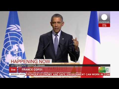 COP 21: Obama's full speech at Paris conference