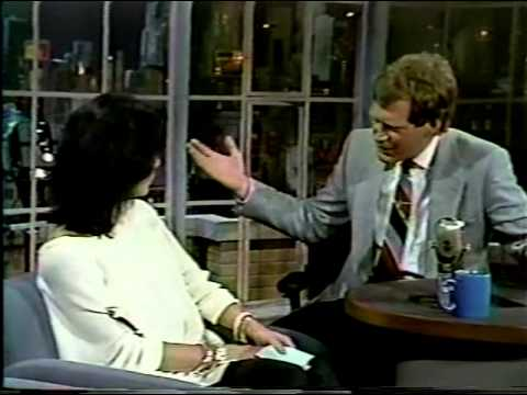 Cher on Letterman 1986