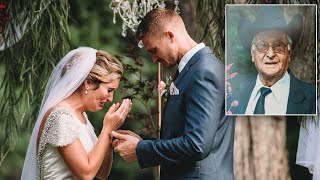 Bride On Late Grandpa's Voice Officiating During Wedding: 'Best Feeling Ever'