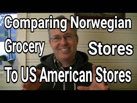 Differences in Grocery Stores Norway vs USA | AmeriNorge