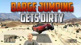 GTA V - Barge Jumping Gets Dirty
