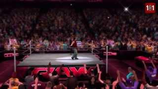 WWE Daniel 'Wyatt' Bryan New 2014 Wyatt Family Look (WWE