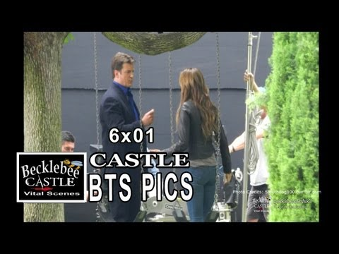 Castle 6x01 BTS Photos Behind the Scenes  Pictures (HD) Warning: Major Spoiler, Castle 6x01 BTS Photos (HD) Warning: Major Spoiler, Castle 6x01 behind the scenes photos, Castle season 6 BTS photos, Castle season 6 episode 1 behind the sc...