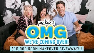 $10,000 Room Transformation Giveaway!! | OMG We're Coming Over | Mr. Kate