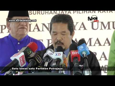 Satu lawan satu Parlimen Putrajaya