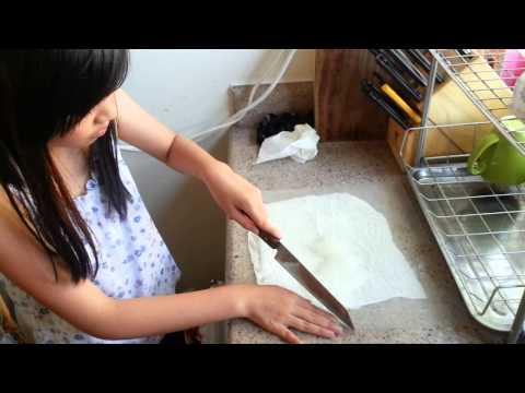 Raw fresh aloe vera juice(nha dam) recipe by lien