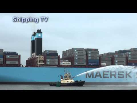 Maersk profits triple for 2013