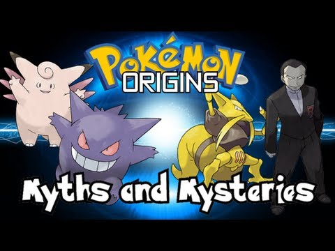 Pokemon Origins | Myths and Mysteries | Clefable-Gengar Theory